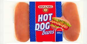 BUŁKA DAN CAKE 250G HOT DOG BUNS